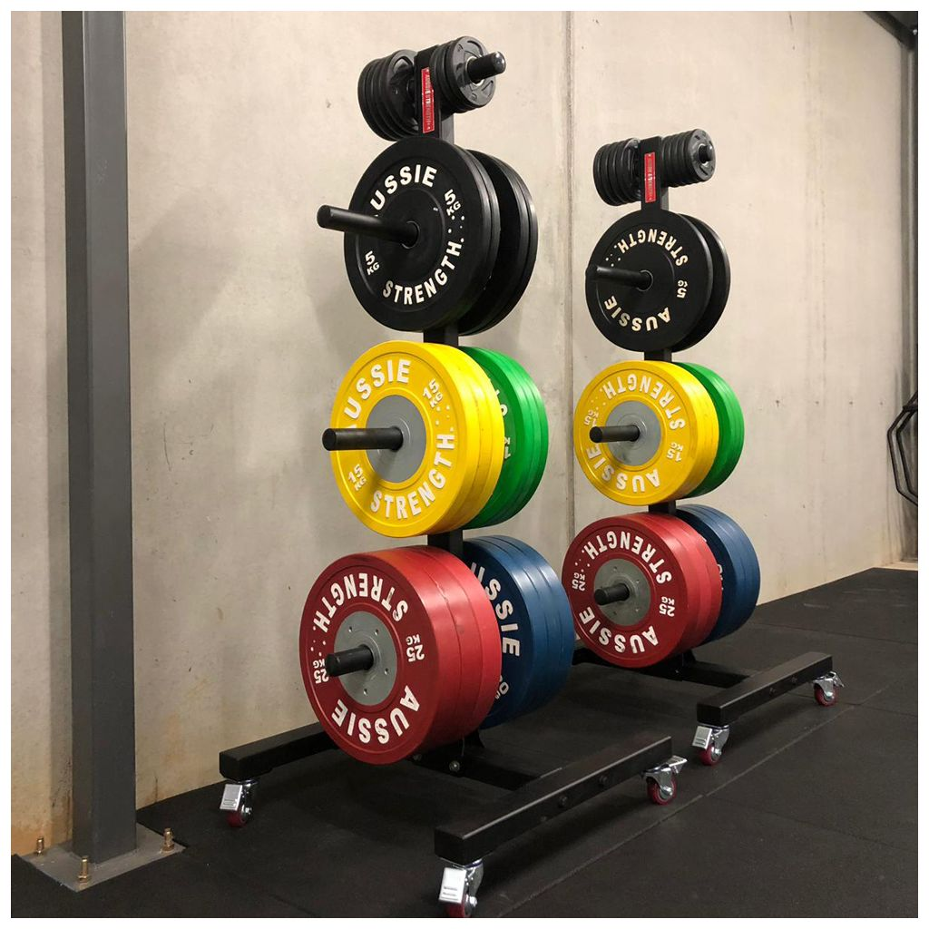 Olympic Weight Tree on Wheels